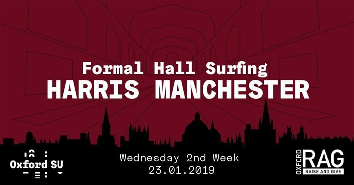 Formal Hall Surfing: Harris Manchester College