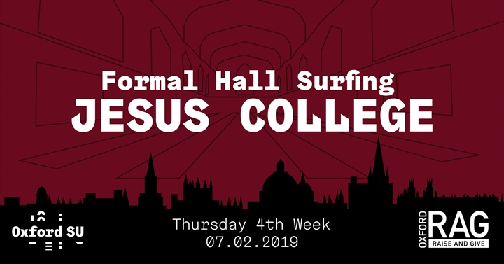 Formal Hall Surfing: Jesus College