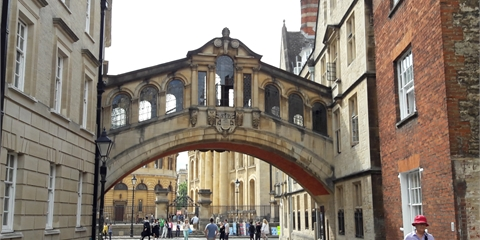 This is a photo of Oxford University